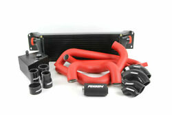 Perrin Front Mount Intercooler Fmic W/ Boost Pipings For 15-17 Sti Black