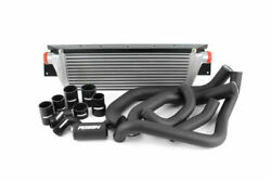 Perrin Front Mount Intercooler Fmic W/ Boost Pipings For 08-14 Sti Silver