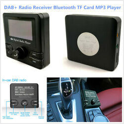 In-car Dab+ Radio Receiver With Bluetooth Mp3 Player Fm Transmitter Quick Scan