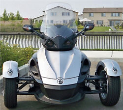 New 2007-2019 Can Am Spyder Rs And Gs 28 Clear Windshield Custom Made In Usa