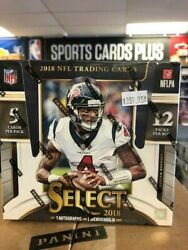 2018 Panini Select Football Factory Sealed Box Free Usps Priority Mail Shipping