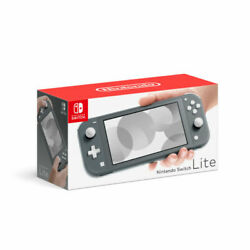 Nintendo Switch Lite Gray Handheld Video Game Console Grey New Fast Shipping