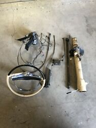 1959 Chrysler 300e Complete Auto Pilot Cruise Control W/ Column And Steering Wheel