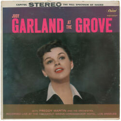 Judy Garland Authentic Signed Autographed Record Album