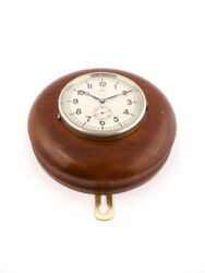 Omega Table Or Desk Clock With 8 Days Swedish Military In The 30ies