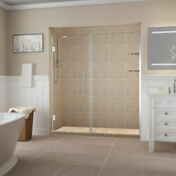 Aston Sdr960ez-ch-7036-10 Belmore Gs Frameless Hinged Alcove Shower Door With...
