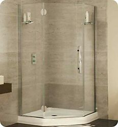 Pgna38-11-40l-rb-79 Fleurco Platinum Neo Angle Single Shower Door With Glass ...