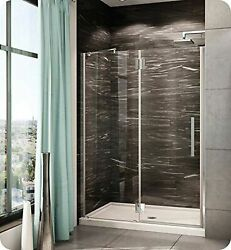 Pxlp51-25-40r-rc-79 Fleurco Platinum In Line Door And Panel With Glass To Gla...