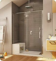 Plalp57-25-40l-ra-79 Fleurco Platinum In Line Door And Panel Glass To Glass H...