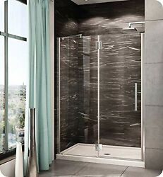 Pxlp40-11-40l-tb-79 Fleurco Platinum In Line Door And Panel With Glass To Gla...