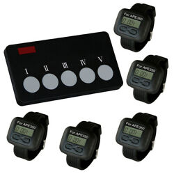 Singcall Wireless Cafe Hotel Calling System For Calling Waiter To Pick Dish