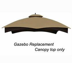 Replacement Top For Lowe's Allen Roth 10x12ft Vendor Gazebo Canopy Gf-12s004b-1