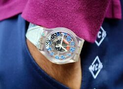 Swatch 007 Watch Collectible Art Super Rare Sujk138 Limited Edition Swiss Made Q
