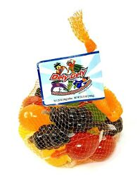 Dely-gely Tik-tok Fruit Jelly Fruit-licious Candy 5 Piece Sampler Ships Asap