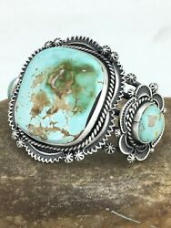 Native American Sterling Silver Royston Turquoise Bracelet 1131