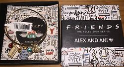 Nwt Alex And Ani Friends Pivot Couch Gold Bangle Card And Box
