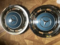 Mercedes Wheelcovers 13andrdquo Late 50s Early 60s