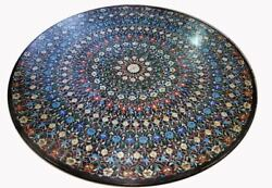 48 Marble Coffee Table Top Mosaic Inlay Marquetry Living Home Decor