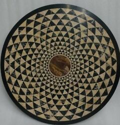 48 Marble Table Top Handmade Pietra Dura Inlay Work For Home Decor