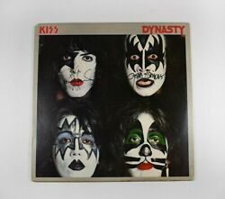 Kiss Dynasty Simmons Stanley Signed Autographed Record Album LP PSADNA COA