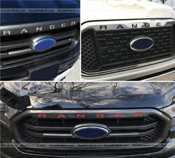 DKM GRILLE INSERT RED FOR RANGER 2019 UP FRONT LETTERS NOT DECALS $11.45