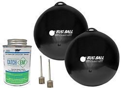 Bug Ball Starter Kit- Yellow Fly Horse Fly Deer Fly And Greenhead Fly Trap