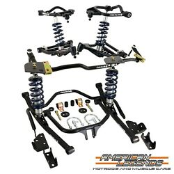 Ridetech 1958 Chevy B-body Impala Coilover Suspension System 11040202