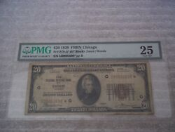 1929 20 Star Note Chicago G Federal Reserve Frbn Only 1 Graded Better
