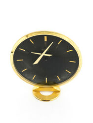 Jaeger Lecoultre Very Stylish Jaeger Lecoultre Desk Clock With Eccentric Hands
