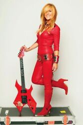 Poster Lita Ford Poster 80s 90s Retro Vintage Repro Photo 24x36 Inch B