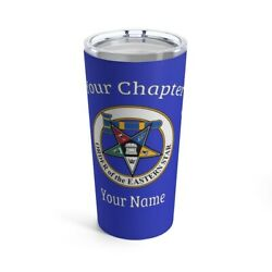 Order Of The Eastern Star Tumbler Masonic Cup Oes Gift Matron