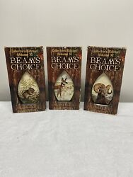 Jim Beam's Choice Collectors Edition Volume Xi Whiskey Bottles Complete Set