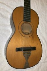 Old Antique Parlor Guitar Firth Hall Pond Made In 1842 Martin