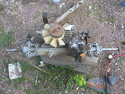 Stx38 John Deere Lawn Tractor Hydrostatic Transmission And Differential