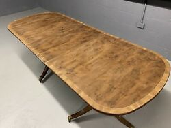Amazing Cmc Designs Art Deco Burr Yew Dining Table To Be Pro French Polished