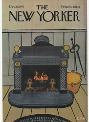 1973 New Yorker Magazine Cover By Charles .e. Martin 11.5 X 8
