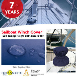 Oceansouth Sailboat Winch Cover Andndash Self Tailing- Height 9.8 - Base 8.1 Diameter