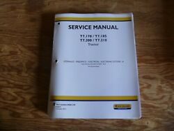 New Holland T7.170 T7.185 Tractor Electrical Wire Harness Service Repair Manual