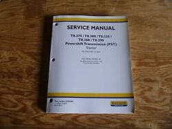 New Holland T8.275 T8.300 Pst Tractor Electrical Wire Harness Service Manual