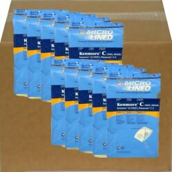 100 Pack Of Kenmore Canister 5055, 50557 And 50558 Vacuum Bags