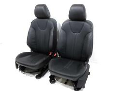 Ford Focus Black Leather Oem Replacement Front Seats 2011 2012 2013 Mk3