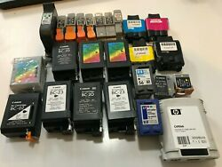 Lot Of Used Ink Cartridges