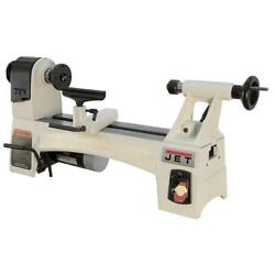 Jet Bench Wood Lathes 115-volt Variable Speed Wider Bed Tail Stock Ranges White