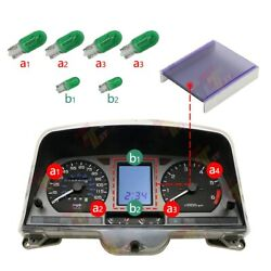 Display With Green Bulb Kit For Honda Goldwing Gl1500 Gauge Cluster 1988-2000