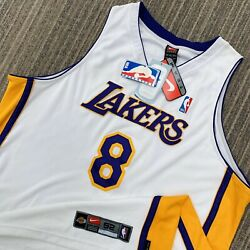 Rare Deadstock Authentic Kobe Bryant Los Angeles Lakers Nike Jersey Size 52 Xxl