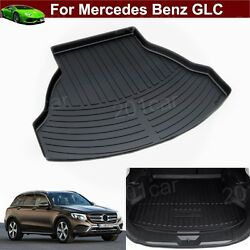 1pcs Leather Car Mat Pad Trunk Cargo Liner Cargo Mat Tray For Benz Glc 2015-2021