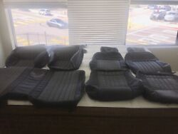 2002 Ceta Collector Edition Trans Am Ebony Black W/gray Realleather Seat Covers