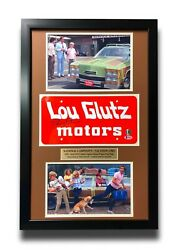 Vacation Chevy Chase Signed Movie Car License Plate Framed Collage Bas 1983 Auto