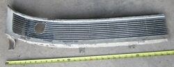 1961 Cadillac Rh Windshield Cowl Intake Grill Vent Chrome 1475377 Used Orig 61