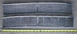 1962 Cadillac Windshield Cowl Intake Grill Grille Pr Lh And Rh Used Orig 62